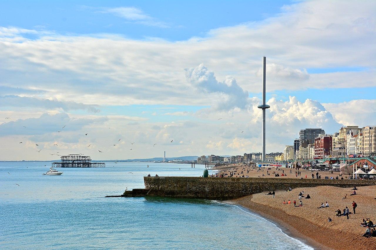 A világ legkarcsúbb tornya Brightonban áll