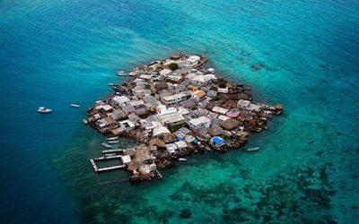 A szúnyogok a hibásak: Santa Cruz del Islote a világ legsűrűbben lakott szigete