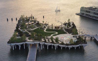 Little Island: Megnyitotta kapuit New York futurisztikus úszó parkja