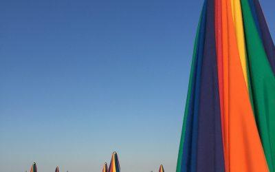 A Rómához közeli tengerparton még kevesen a strandolnak