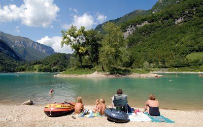 Lago di Tenno: irreálisan türkizkék a legtisztább vizű olasz tó