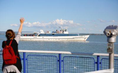 Megkezdődött Balatonon személyhajózási főidény: több járat közlekedik a legkedveltebb útvonalakon