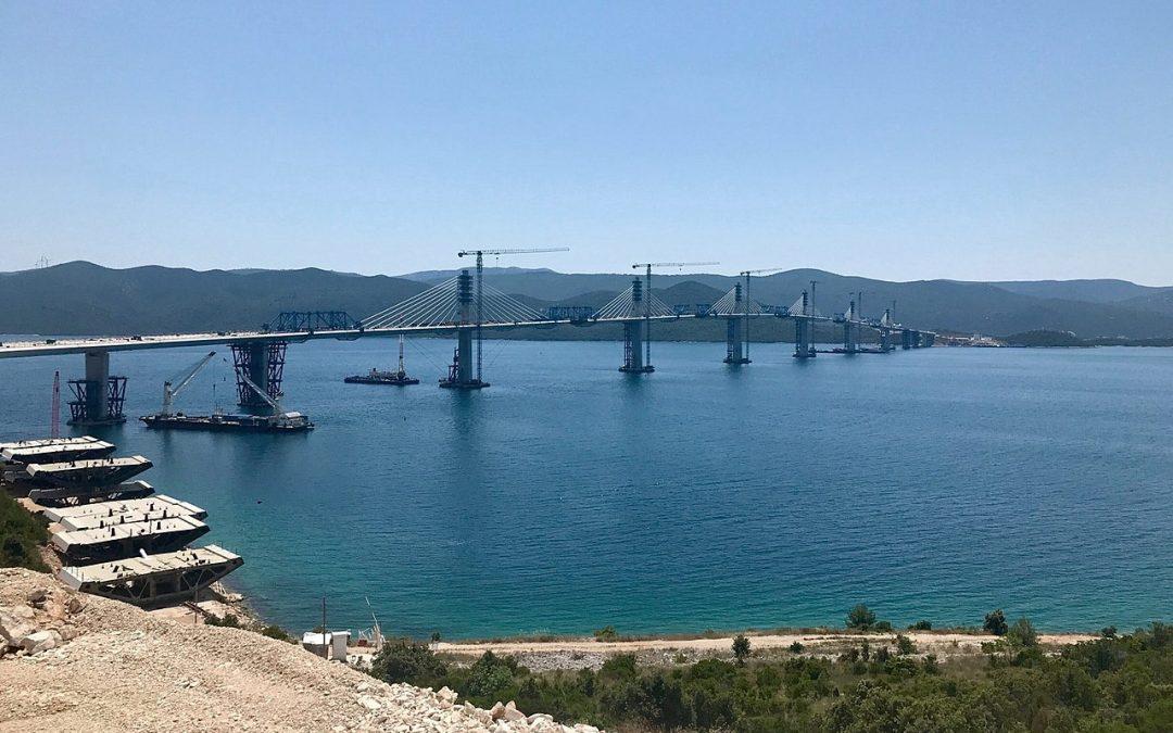 Elkészült a Pelješac-híd: Gyorsabb lett az út a félszigetre