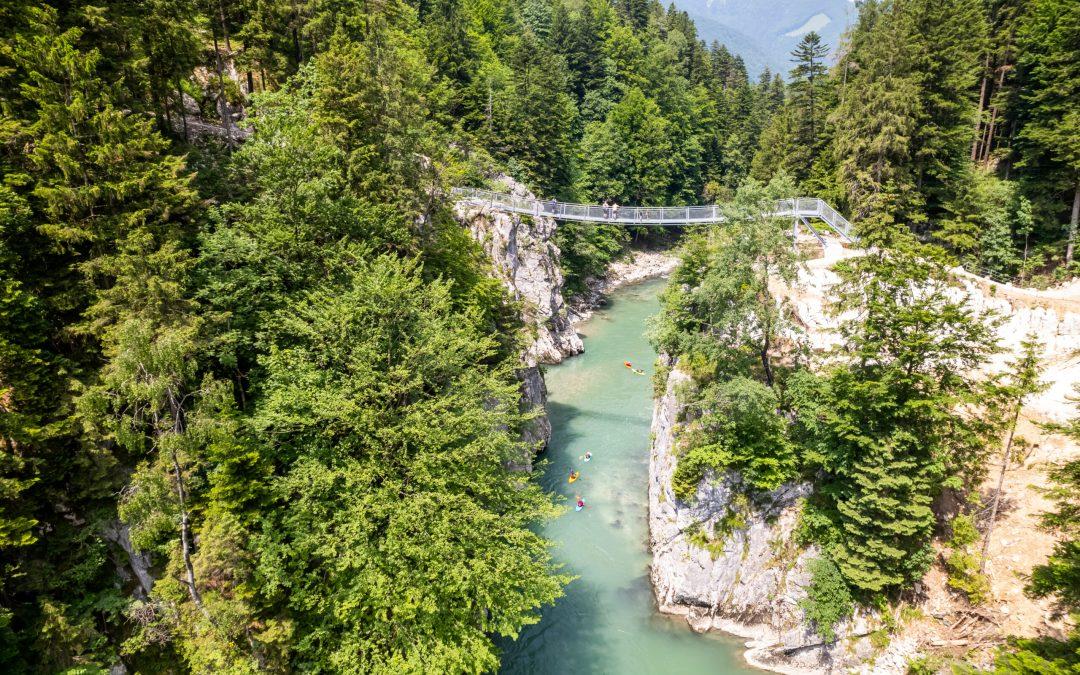 Új szurdoktúra az Alpok titokzatos, rejtett kapujában